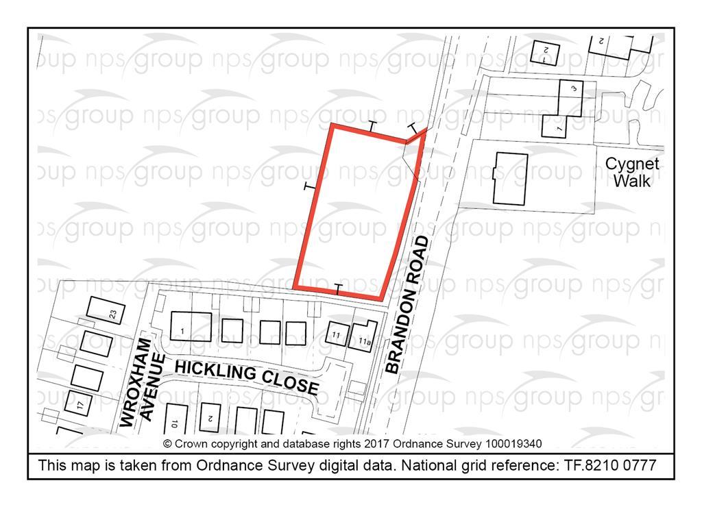 Image of Land At Brandon Road,<br/> Brandon Road,<br/> Swaffham,<br/> Norfolk,<br/> PE37 7EA
