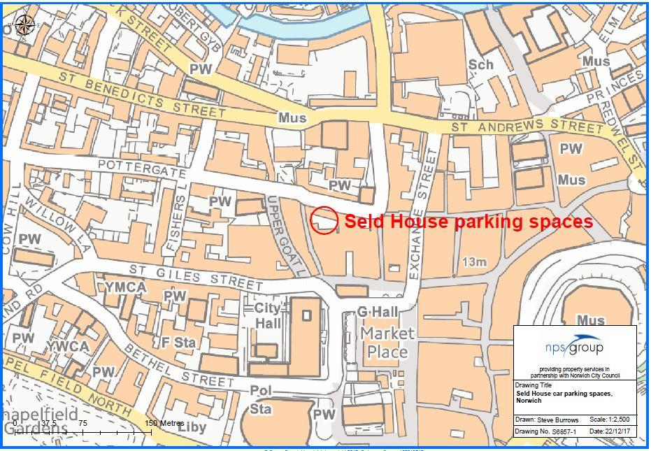 Image of Seld House Parking Space 5,<br/> Norwich,<br/> NR2 1DS