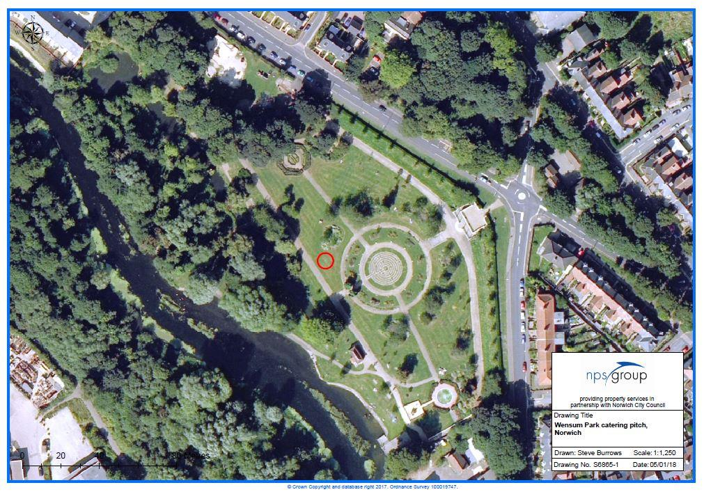 Image of Catering Pitch,<br/> Wensum Park,<br/> Mile Cross,<br/> Norwich,<br/> NR3 2DQ