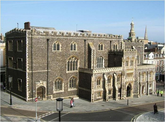 Image of The Guildhall,<br/> (Part Of),<br/> Gaol Hill,<br/> Norwich,<br/> Norfolk,<br/> NR2 1JS